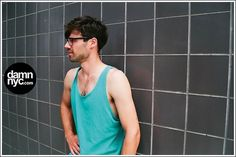 damn nyc - pictures #photography #blue #analog #damnnyc #damn nyc #tank top #philli
