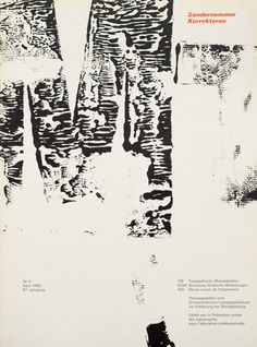 Cover from 1968 Typographische Monatsblätter issue 4