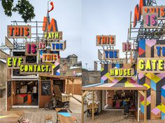 Movement cafe, Tweet Building, Greenwich | studio myerscough | +44 (0)20 7729 2760 #signage