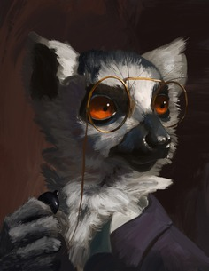 Lemur by plaguedaemon