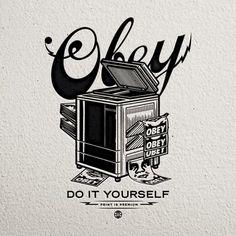 Travis Price #Obey #Clothing #Logo #Illustration