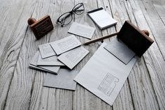 Zsófi Dobos Branding   Serifs & SansSerifs & Sans #stamp #wood #corporate #identity #typography