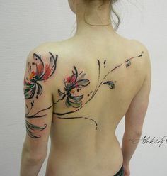40 INCREDIBLE ARTISTIC TATTOO DESIGNS