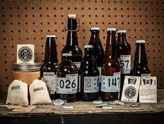 The Fermentation Society #beer #branding #bottle #packaging #label
