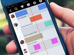 Timeline Concept For Task Management Tool #iphone #manager #app #task