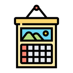 See more icon inspiration related to calendar, time planning, time and date, business and finance, monthly calendar, wall calendar, planning, landscape, picture and time on Flaticon.
