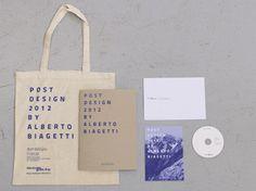 Post Design 2012 on the Behance Network #post #blu #catalog #print #design #graphic #biagettistudio