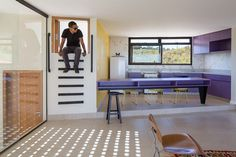 PopSonics is a fun house #interiordesign