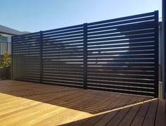 No Boundaries Fencing Aluminium privacy Screens Canberra Fencing