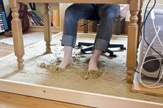 Sand between your toes #workspaces