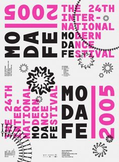 Posters – Sulki & Min #pattern #magenta #grid #poster #type