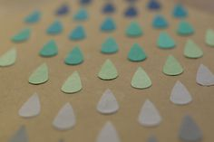 IMG_5762 #craft #rain #origami #cutting #punch #paper
