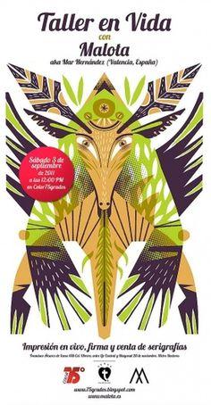 malota-taller-en-vida.jpg 537×1.032 pixels #illustration #design #poster