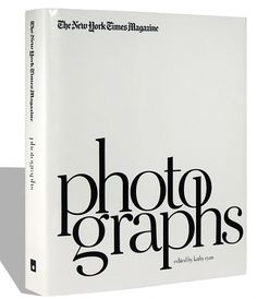 The New York Times Magazine Photographs | Swiss Legacy #white #book #black #and #typography