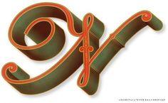 Guest Alphabet: Louise Fili Ltd. | Daily Drop Cap #fili #ltd #louise #cap #drop #typography
