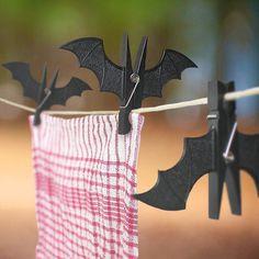Bat Peg Clips #tech #flow #gadget #gift #ideas #cool