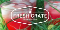 Fresh Crate #logo #fresh #fruit #food