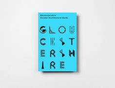 architectural guide cover 3 #icons #typography