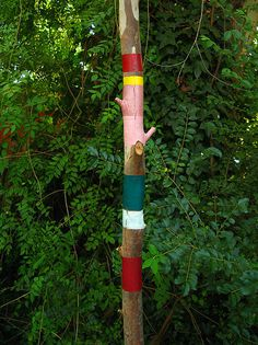 All sizes | hormiguero / anthill | Flickr Photo Sharing! #wood paint