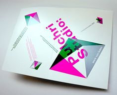 Pulchri Studio - Erik de Vlaam - Studio Dumbar #design #graphic #leaflet