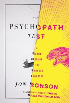 design:related gallery - The Psychopath Test by Jon Ronson cover design by...