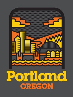 Aaron Draplin on Life, Design, and Taking the Work Home – City of Portland Poster