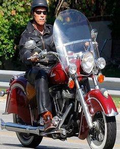 Arnold Schwarzenegger Motorcycle Jacket