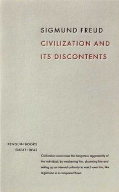 Penguin Books - Civilization and Its Discontents #cover #book #covers
