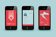 Croatian Institute for Health Insurance #croatia #branding #health #app #identity