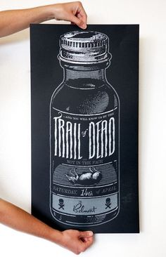 Sanctuary Printshop » Trail of Dead screen printed posters