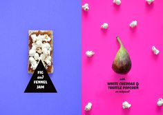 #food #colour #fig #popcorn