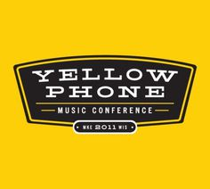 Yellow Phone Branding By Rev Pop #badge #phone #pop #yellow #scott #brand #starr #rev #logo
