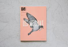 Influencia n°5 on Behance #cover #print #bird #illustration