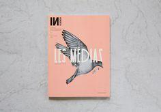 Influencia n°5 on Behance #cover #print #bird #illustration
