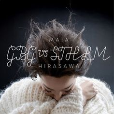 Graphic design inspiration #album #design #graphic #hirasawa #art #maia #music