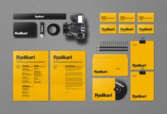 Radikarl / Self promotion on Branding Served #identity
