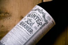lovely package buddys original winter warmer #packaging #design #graphic #typography
