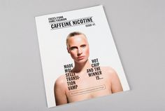 «She Was Only — Caffeine Nicotine Magazine» в потоке «Журналы / Книги, Типографика» — Посты на #cover #journal