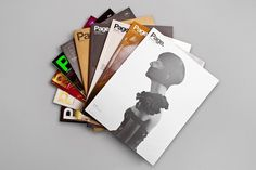 Page. 01 - 10 on the Behance Network #print #magazine