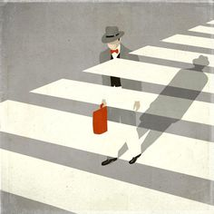 Emiliano Ponzi #simplicity #ponzi #graphic #bold