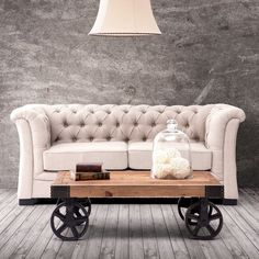 Barbary Coast Distressed Cart Table #tech #flow #gadget #gift #ideas #cool