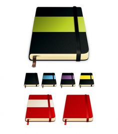 Moleskine Icons - Icon Design - Creattica #icon #branding
