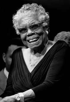 #Maya Angelou #Zachary Goldstein