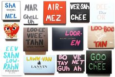 "How To Pronounce: Die T Shirts aus der ""Pronunciation Series"" von Mala New York #fashion"