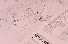 ambushstudio / Bench.li #magazine #book #map #typography