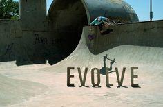 Evolve #concrete #forms #matt #roth #evolve #letter #skate