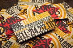 Bone Daddy\'s Identity Package - FPO: For Print Only