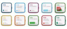 Help Remedies #remedies #branding #packaging #help #medicin