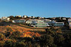 CJWHO ™ (Cascading Lava Flows Inspiring Modern...) #design #photography #architecture #luxury #housing