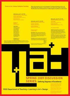 Skolos-Wedell Poster Portfolio #education #design #poster #typography